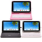 """IRULU 7"""" inch Tablet PC Android 6.0 16GB Quad Core Dual Camera Pad with Keyboard"""