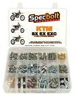 SPECBOLT XXL 296pc Bolt Kit KTM SX EX EXC XC 65 85 150 125 250 300 520 525 530