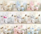 Multiple choice -   CANOPY, 4 PCS,6,9,11 PCS BEDDING SET COT & COTBED Boy Girl