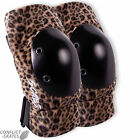 "SMITH ""Scabs"" Elite Elbow Pads Skateboard Roller Derby S/M L/XL Leopard SALE"