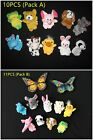 20-22pcs Animal Finger Puppets Play& Learn