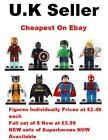 Marvel DC Minifigures Avengers Super Hero Batman Iron Man Mini Figures Fit Lego