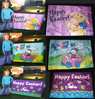 Easter Party Banner-Happy Spring Sign/Flag/Wall Hanging Bunny Eggs Car Gemmy 3x4