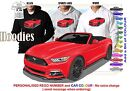 2016 MUSTANG CONVERTIBLE HOODIE ILLUSTRATED CLASSIC RETRO MUSCLE SPORTS CAR
