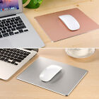 NEW 18*24cm*3mm Luxury Aluminum Smooth Mouse Mat Metal Mouse Pad for LOL Laptop