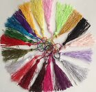 5/10/20  SILK TASSELS-IDEAL FOR CARDMAKING,SCRAPBOOKING,SEWING,CRAFTS, 12-14CM