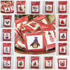 Create Christmas Decoration Kit by Docrafts Angels tree owls gingerbread man....