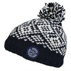 Regatta Askel II Boys Girls Kids Fleece Lined Fairisle Knit Style Hat Navy