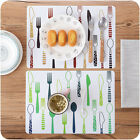 Placemats Insulation Mats Tables Coasters Kitchen Dining Table Decor Tableware