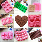 Silicone Molds Chocolate Cake Candy Pastry Ice Cube DIY Cupcake Soap Moulds