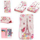 Patterned Synthetic Flip Leather Card Wallet Stand Case Cover For iPhone7/8 Plus