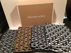 NEW Michael Kors Signature MK Knit Scarf Comes in MK Gift box