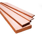 Copper Flat Bar SPECIAL OFFER 500mm or 1000mm Options  C101 Grade Copper Bar