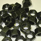 "Hex Nut 5/16""-24 UNF Black Oil Treatment (10/20/50/100 pcs)"