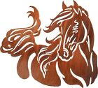 Frisky Horse Laser Cut Metal Wall Art Made in USA ~ Size Choice