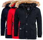 Geographical Norway warme Herren Winter jacke Outdoor Parka Anorak Mantel BOEING