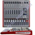 Pro 12Ch 99 sound effect USB MP3 Studio Audio Mixers Mixing Console Processor