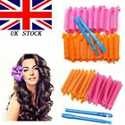 20~40PCS DIY 55CM Magic Leverag Hair Curlers Tool Styling Rollers Spiral Circle