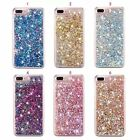 Hot Luxury Bling Dynamic Liquid Diamond Glitter Clear Case Cover for Cell Phones