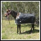Love My Horse 5'3 - 6'6 420D 180g Liner Stable Doona Rug Black