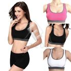 Hot Women's Seamless Yoga Sports Bra Cross Movement One Piece Underwear Bra