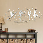 30pcs Ballet Dancer Mirror Stickers Removable Wall Sticker Vinyl Decal Decor DIY