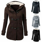 Women\'s Warm Coat Jacket Tops Outwear Trench Winter Hooded Long Parka Overcoat