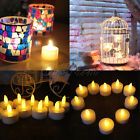 24 X LED TEA LIGHT FLAMELESS CANDLE NEW YEAR WEDDING DECORATION BATTERY INCLUDED