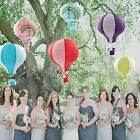 """5 Air Balloon Colorful Paper Lanterns 30CM/12"""" Wedding Party Holday Decorations"""