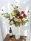 1 PCS Artificial Flower Long Stem Silk Rose Wedding Home Decoration Gift F380