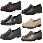 Ladies Clarks Flat Loafer Style Shoes Georgia