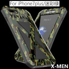 X-MEN Stainless Steel Metal Cover Protection Case Shockproof For Iphone 6 7 Plus