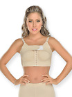 Fajas Colombianas MyD Post Surgery Bra with Adjustable Strap & Implants Stabiliz