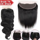 7A Best Frontal Lace Closure 100% Unprocessed Virgin Human Hair One Bundle US