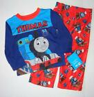 THOMAS THE TRAIN Toddler Boys 2T 3T 4T 5T Pjs Set PAJAMAS Shirt Pants