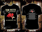 Black Shirt Tom Petty & the Heartbreakers 40th Anniversary Tour 2017 Many Size