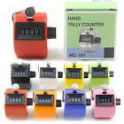 Creative Plastic Metal 4 Digit Hand Held Tally Clicker Counter Manual Palm