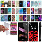 "For LG Tribute HD LS676 X Style 5"" X Skin Design TPU SILICONE Case Cover + Pen"