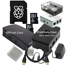Raspberry Pi 3 & B Accessories NOOBS SD, Case, Power, HDMI, Heat Sinks Kit