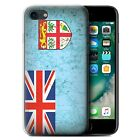 STUFF4 Gel/TPU Phone Case for Apple iPhone 7 /Oceania Flag