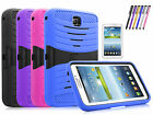 Hybrid Tough Hard Stand Cover Case for Samsung Galaxy Tab 3 7.0 inch T210 P3200