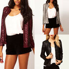 NEW Casual Sequins Trim Shining Women Coat Jacket Blazer Outwear Top Suit