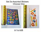 """""""Set 2s"""" Assorted Stickers-CHOOSE ONE-Great For Pages/Cards"""