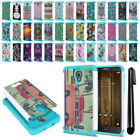 "For Alcatel Fierce 4 Allura 5056 Pop 4+ 5.5"" Hybrid Shock Proof Case Cover + Pen"