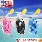 US 2017 Full Face Scuba Mask Snorkeling Diving Swimming Goggles Breath for GoPro