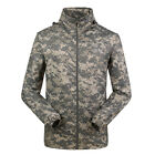 Outdoor Sports Mens Camouflage Military Hooded Coat Army Jacket Work Outwear HOT