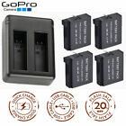 Battery+Dual USB Charger For GoPro AHDBT-401 HD Hero 4 Black Silver Sport Camera