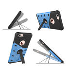 Rugged Armor Hybrid Silicone Kickstand Hard Case Cover For iPhone7 8 Samsung s7