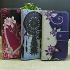 Dream Catcher Flower Wallet Pouch Stander flip case cover for LG Phone
