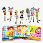 Cartoon Stickers Children Hand-made Fashionable Change Clothes Show Beautiful